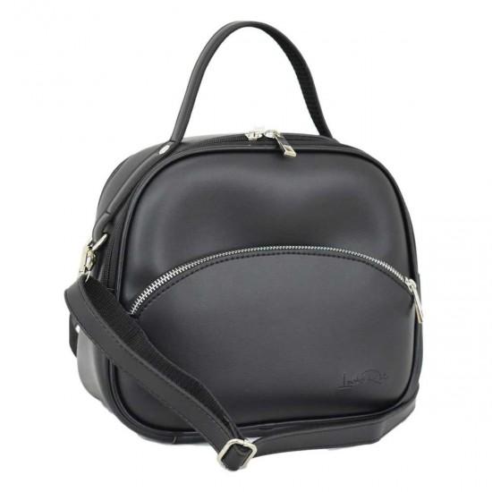 Жіноча сумочка LUCHERINO 672 чорний