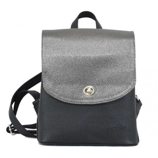Жіноча рюкзак LUCHERINO 646 срібло