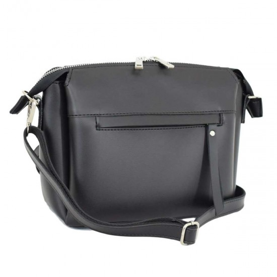 Жіноча сумочка на три відділення LUCHERINO 676 чорний