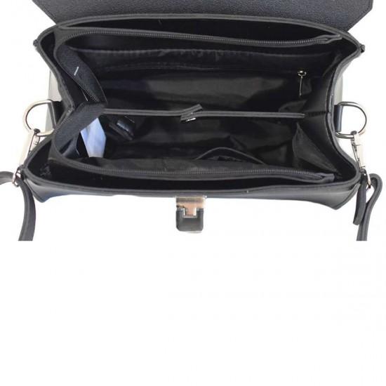 Жіноча сумочка LUCHERINO 572 чорна