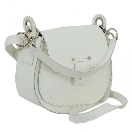 Жіноча сумочка LUCHERINO 662 білий