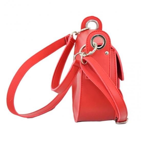 Жіноча сумочка LUCHERINO 662 червоний
