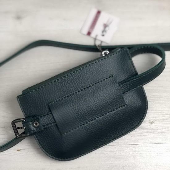 Женская сумочка на пояс WELASSIE Кэти зеленый
