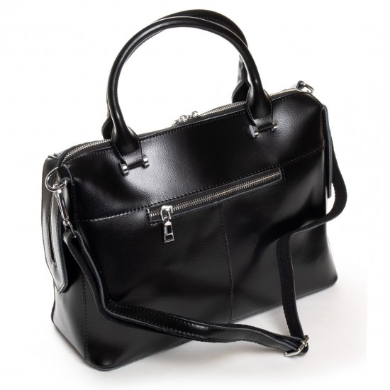 Женская сумка из натуральной кожи ALEX RAI 20-8542 черный