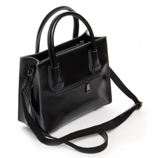 Женская сумка из натуральной кожи ALEX RAI 19-P1527 черный