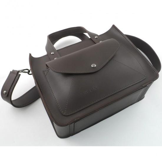 Женская модельная сумка LARGONI 1981 кофейный