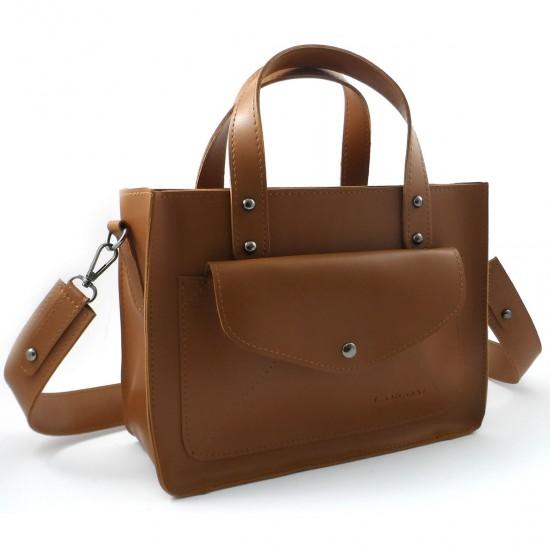 Женская модельная сумка LARGONI 1981 рыжий