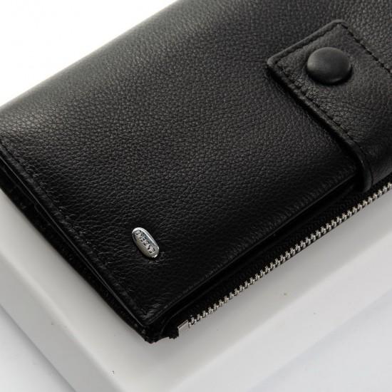 Жіночий шкіряний гаманець dr.Bond PD WMB-1 чорний