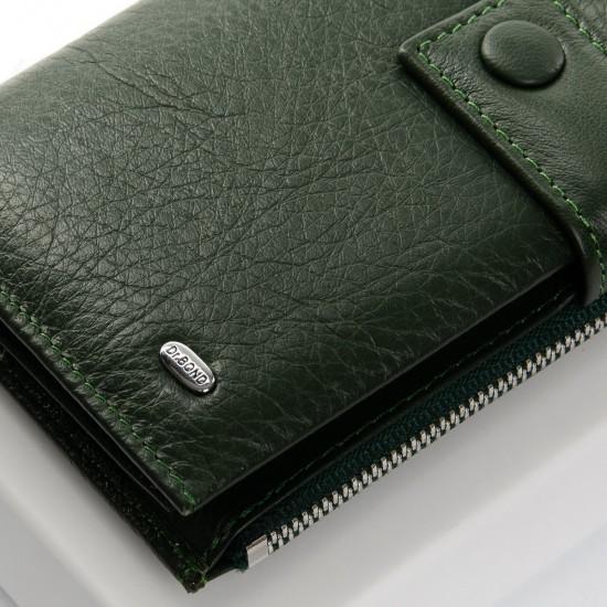 Жіночий шкіряний гаманець dr.Bond PD WMB-1 зелений