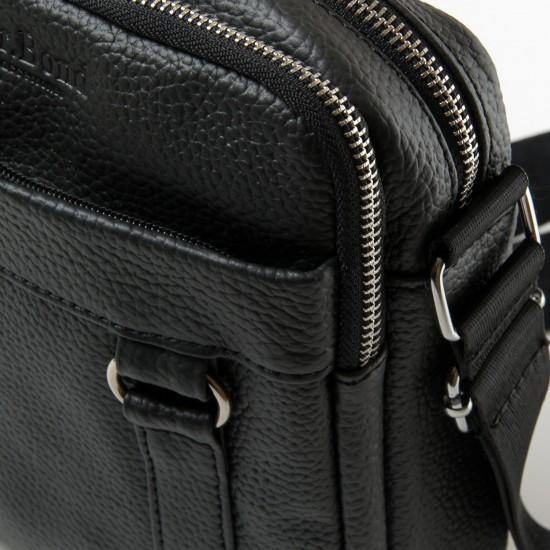 Мужская сумка-планшет из натуральной кожи dr.Bond 6619 черный