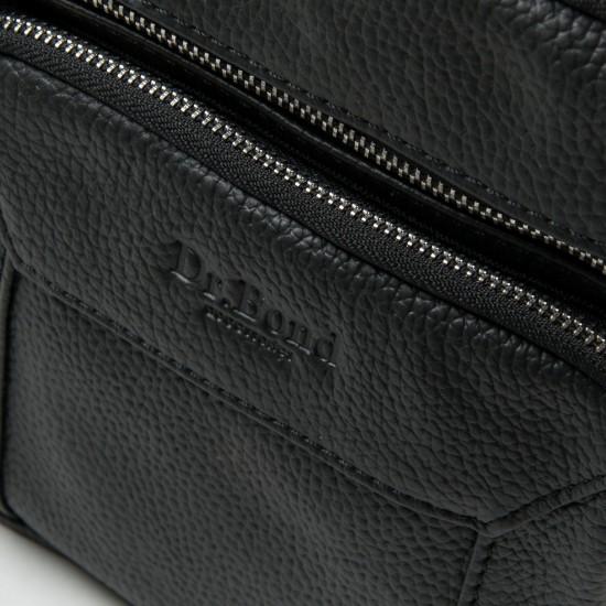 Мужская сумка-планшет из натуральной кожи dr.Bond 1436 черный
