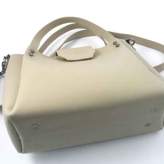 Жіноча модельна сумка LARGONI 1742A бежевий
