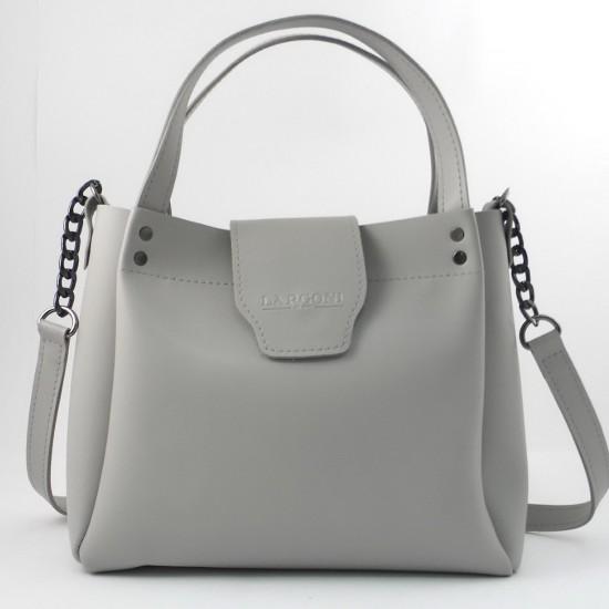 Жіноча модельна сумка LARGONI 1742A сірий