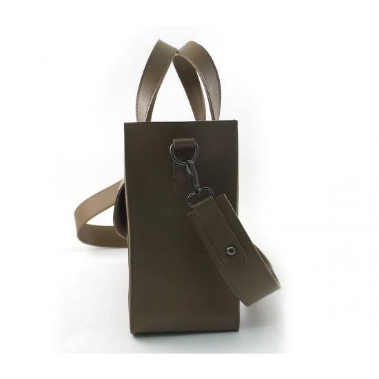Жіноча модельна сумка LARGONI 1981 оливковий