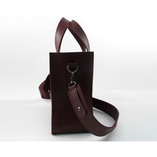 Женская модельная сумка LARGONI 1981 бордовый
