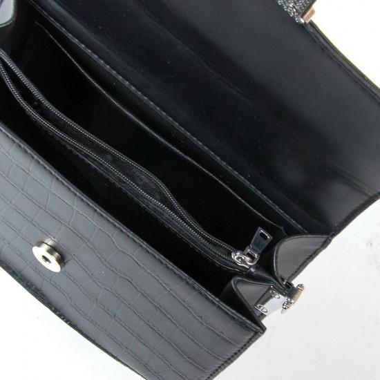 Жіноча сумочка-клатч FASHION 16913 чорний