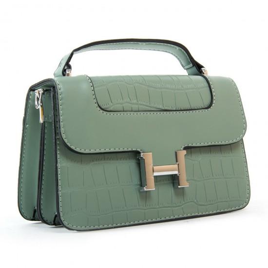 Жіноча сумочка-клатч FASHION 16913 м'ятний