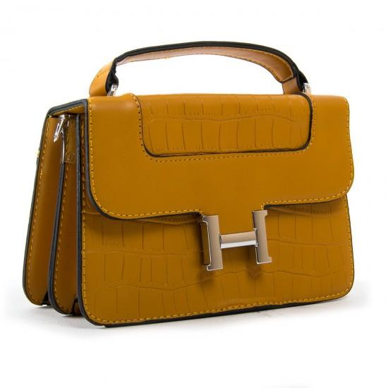 Женская сумочка-клатч FASHION 16913 горчичный