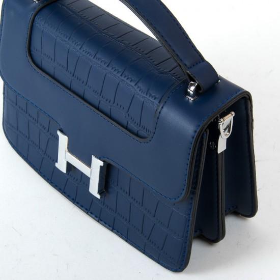 Женская сумочка-клатч FASHION 16913 темно-синий