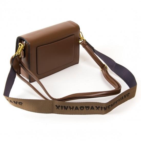 Женская сумочка-клатч FASHION 6750 коричневый