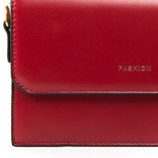 Женская сумочка-клатч FASHION 6750 красный