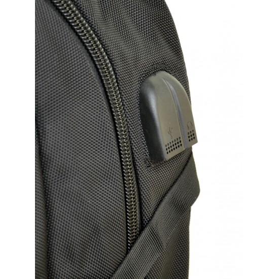 Великий міський рюкзак Power In Eavas 3884 чорний