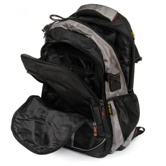Городской рюкзак  Power In Eavas 8518 черный + серый