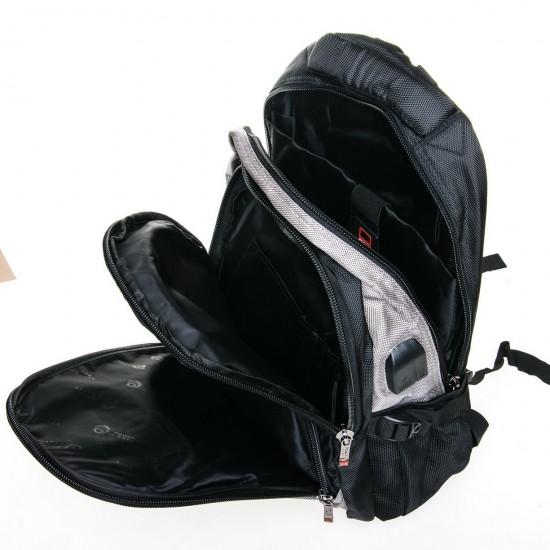 Міський рюкзак Power In Eavas 9063 чорний + сірий