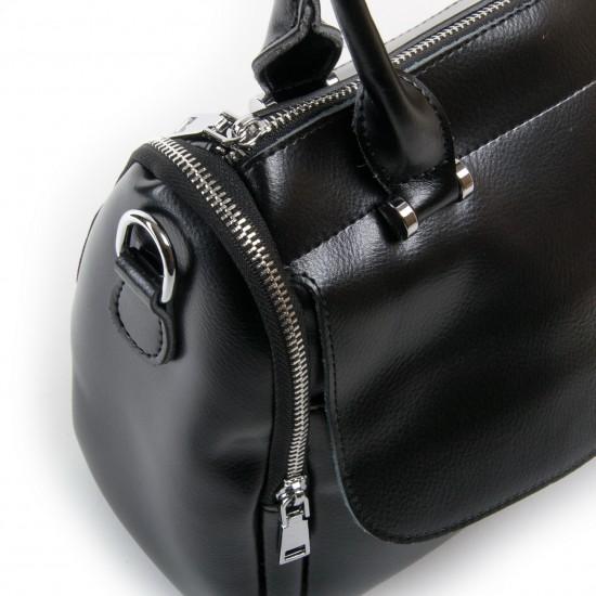 Жіноча сумка з натуральної шкіри ALEX RAI 2231 чорний