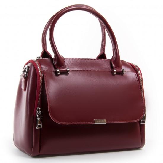 Женская сумка из натуральной кожи ALEX RAI 2231 бордовый