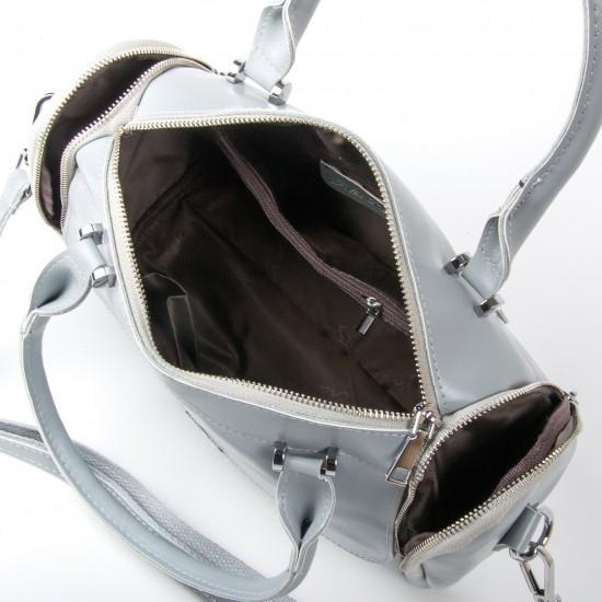 Жіноча сумка з натуральної шкіри ALEX RAI 2231 сірий