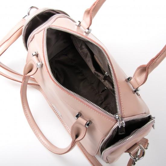 Женская сумка из натуральной кожи ALEX RAI 2231 пудра