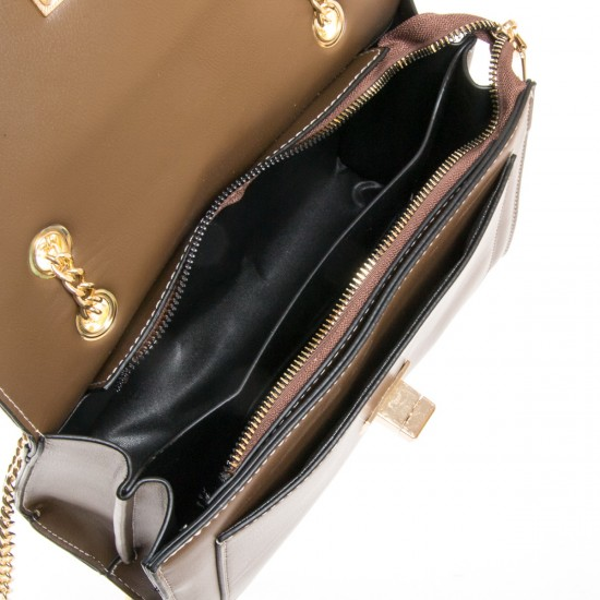 Женская сумочка-клатч FASHION 810 кофейный