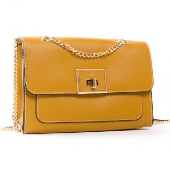 Жіноча сумочка-клатч FASHION 810 гірчичний
