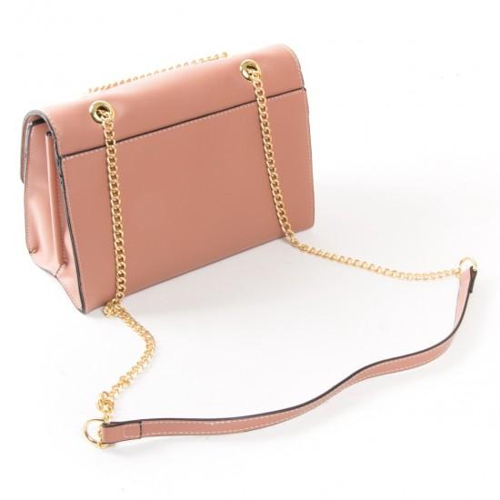 Жіноча сумочка-клатч FASHION 810 пудра