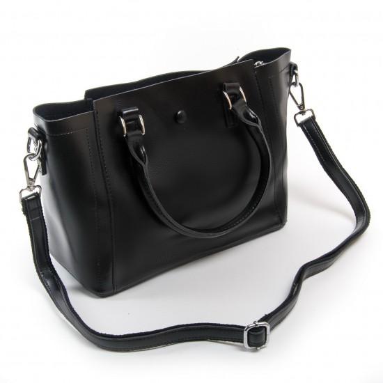 Женская сумка из натуральной кожи ALEX RAI 2107 черный