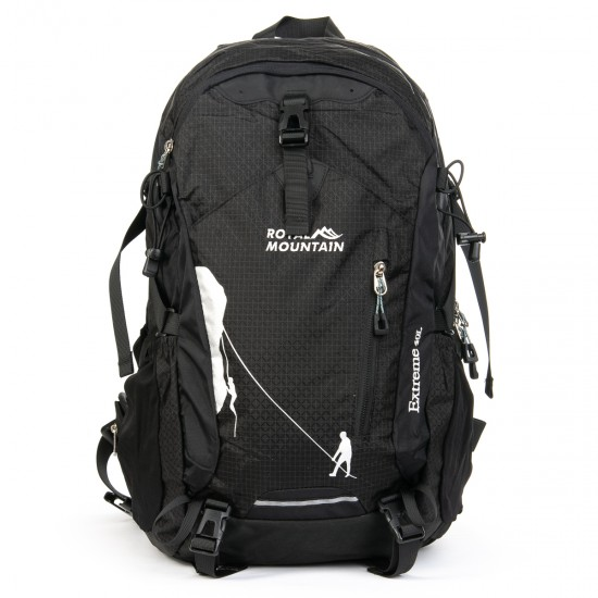 Туристичний рюкзак Royal Mountain 1646 чорний