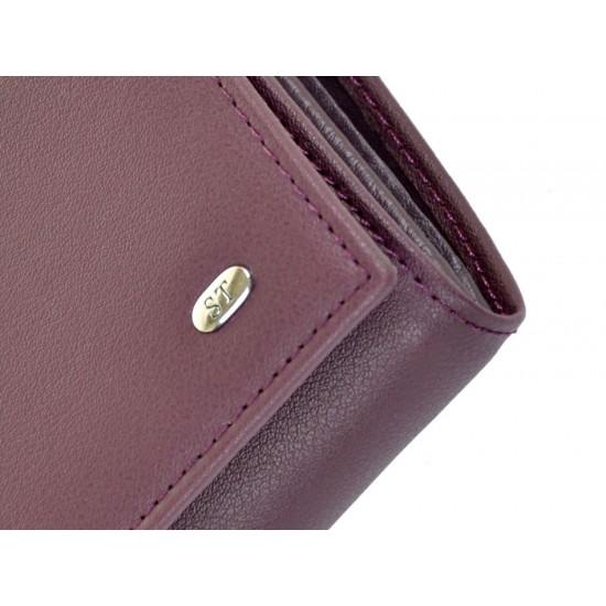 Большой женский кошелек Sergio Torretti W1-V фиолетовый