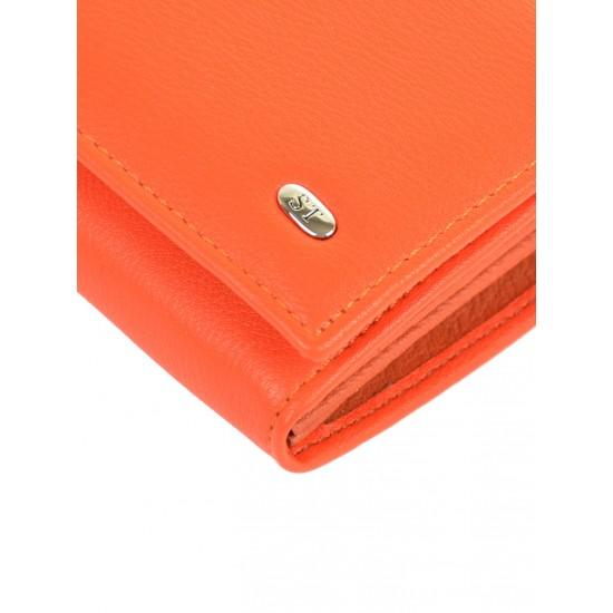 Великий жіночий гаманець Sergio Torretti W1-V помаранчевий
