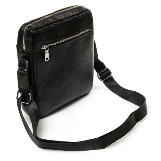 Чоловіча сумка-планшет з натуральної шкіри dr.Bond 66262 чорний