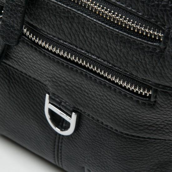 Чоловіча сумка-планшет з натуральної шкіри dr.Bond 20110 чорний