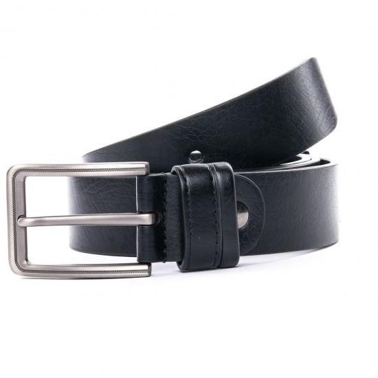 Мужской кожаный ремень 352979 черный