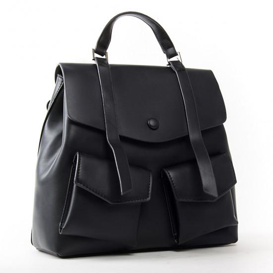 Жіноча сумка-рюкзак FASHION 9903 чорний