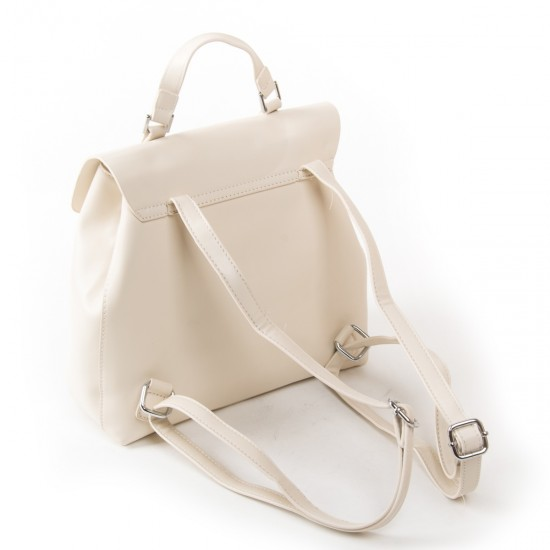 Женская сумка-рюкзак FASHION 9903 бежевый