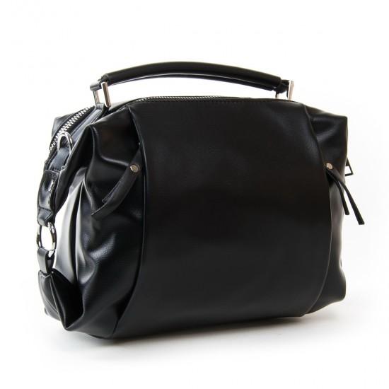 Жіноча сумочка на два відділення FASHION 971 чорний
