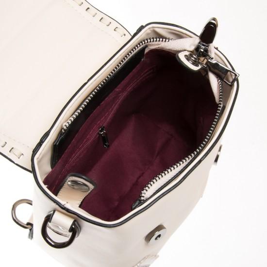 Женская сумка-рюкзак FASHION 7121-1 бежевый