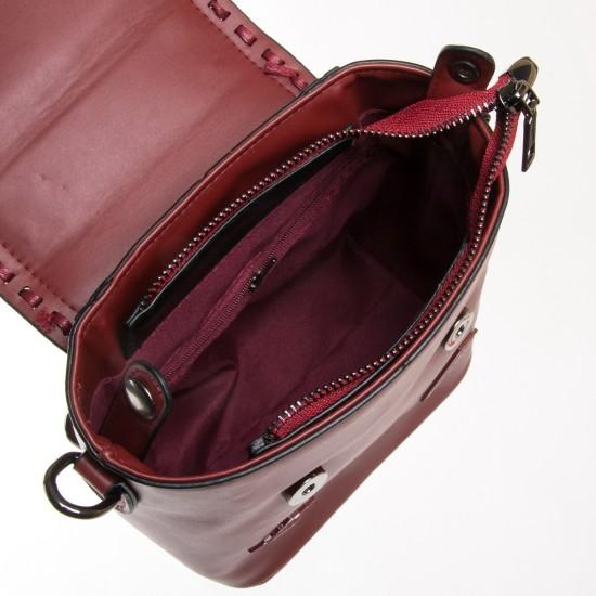 Жіноча сумка-рюкзак FASHION 7121-1 бордовий