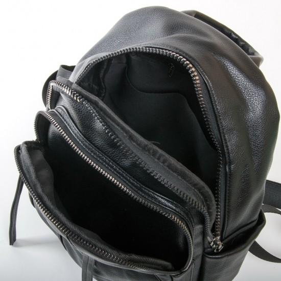 Жіноча сумка-рюкзак FASHION 871 чорний