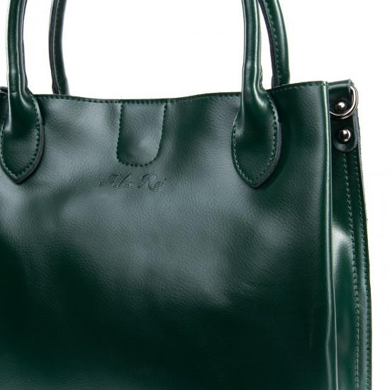 Женская сумка из натуральной кожи ALEX RAI 8784 зеленый