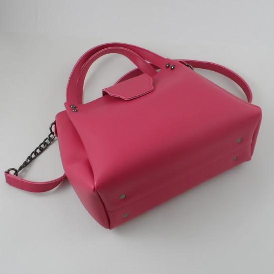 Женская модельная сумка LARGONI 1742A фуксия